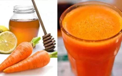 zanahoria, limón y miel