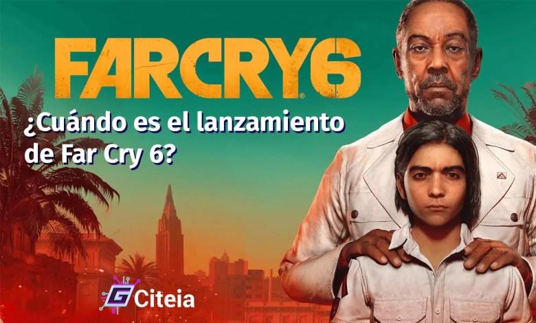 Lanzamiento del juego far cry 6 portada de artículo