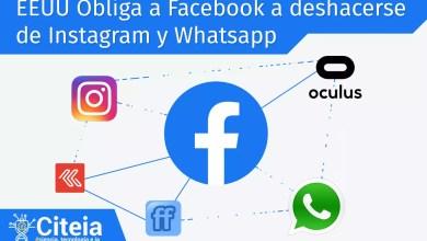 EEUU obliga a facebook a deshacerse de instagram y whatsapp portada de articulo