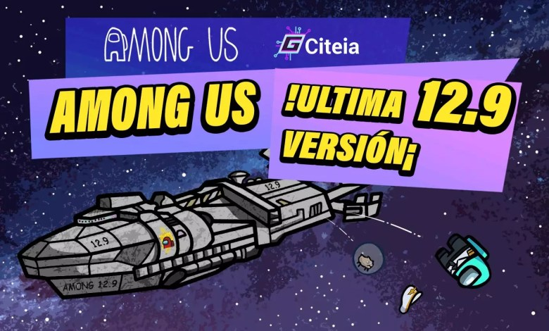 Among us version 12.9 con todo desbloqueado para pc portada de articulo