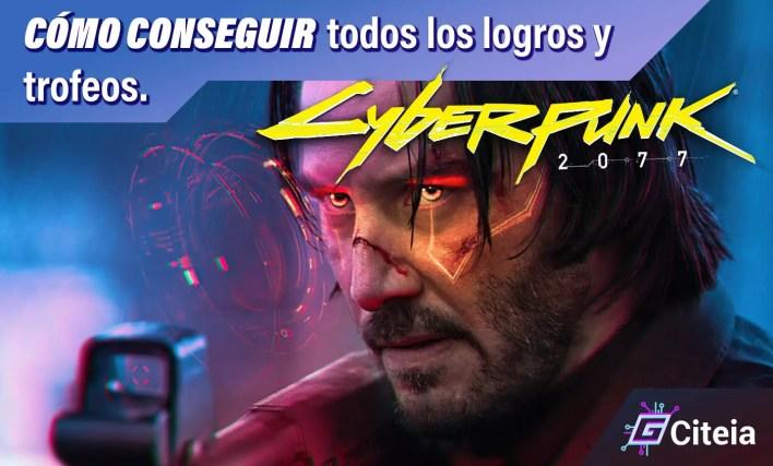 conseguir logros y trofeos en cyberpunk 2077 portada de articulo