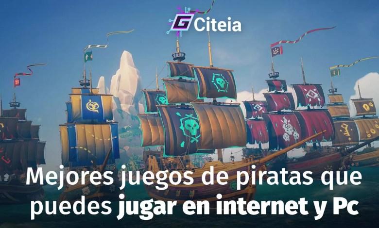 Juegos de piratas que puedes jugar en internet [Para Pc] portada de artículo
