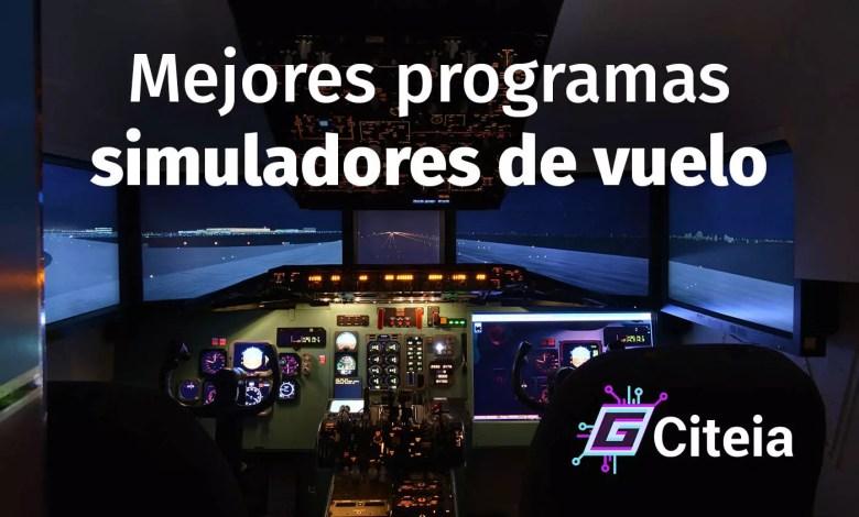 Los mejores programas de simulador de vuelo para entrenar y jugar portada de artículo
