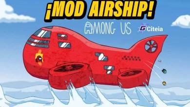 Mod Airship Among Us portada de artículo