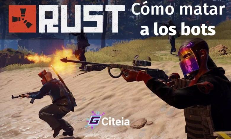 ¿Cómo matar a los bots en Rust con distintos medios? portada de artículo