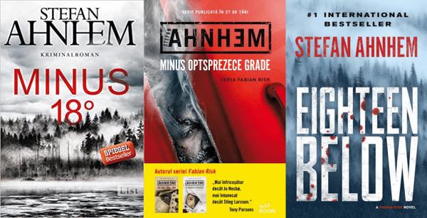 Minus optsprezece grade (seria Fabian Risk) - Stefan Ahnhem