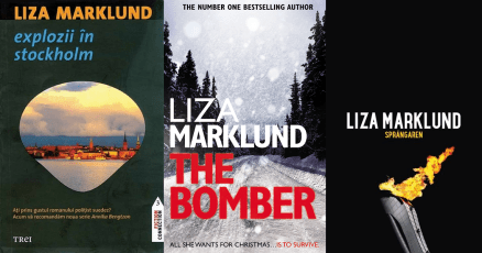 Explozii in Stockholm (The bomber) - Liza Marklund