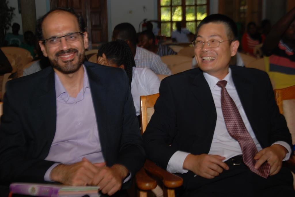 Deputy Chinese Ambassador to Ghana (R)