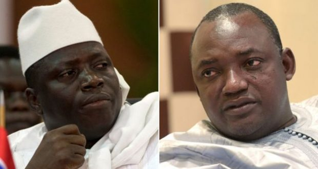 Image result for yahya jammeh and barrow