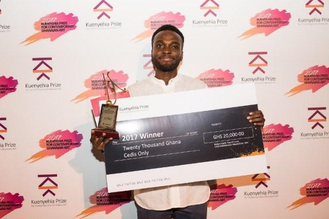 isaac-opoku-winner-of-the-2017-kuenyehia-art-prize