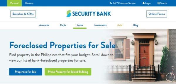 Security Bank | Philippine Real Estate Property Finder
