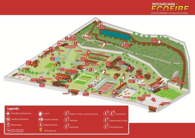 Mapa Ilustrado para Ecofire