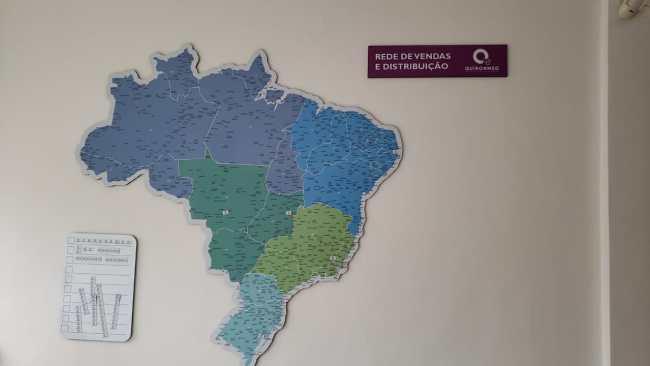 MAPA BRASIL RECORTADO - MAGNÉTICO