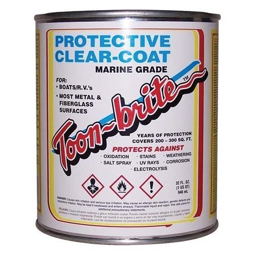 Toon Brite Aluminum Cleaner Amp Protective Clear Coat