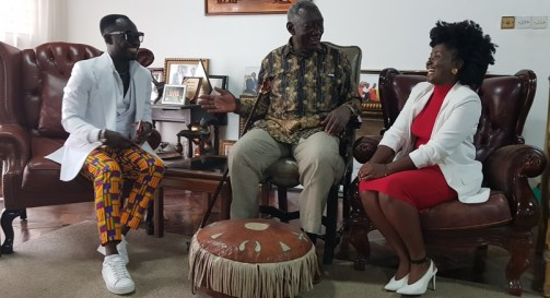 Image result for okyeame kwame and kufuor