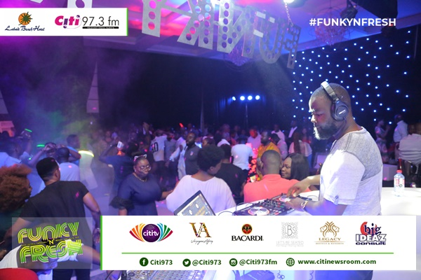 Patrons thrilled at 4th Edition of Citi FM's  'Funky N Fresh' [Photos]