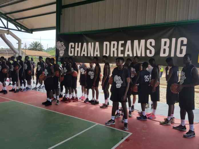 Golden Star Resources, Giant of Africa hold basketball clinic in Prestea