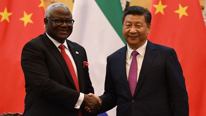 Sierra Leone cancels China-funded airport