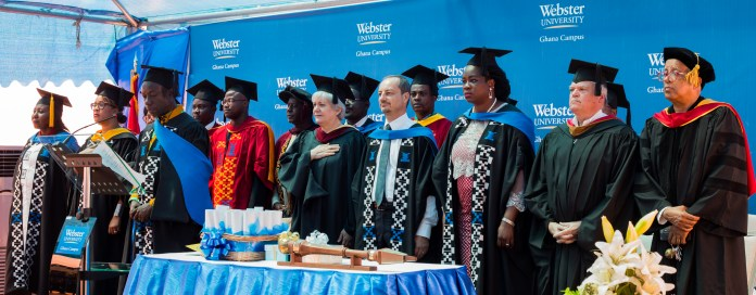 Webster Ghana holds fifth commencement ceremony 5