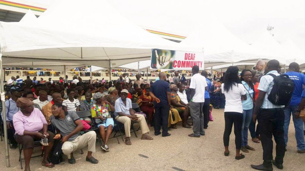 Photos: Charismatic Evangelistic Ministry to build 2000 acre Ability Vilage for the Disabled in Ghana 16