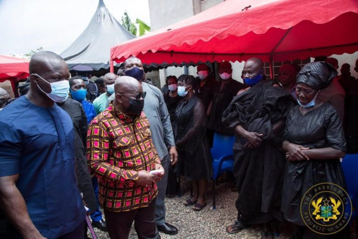 Akufo-Addo visits family of slain Mfantseman MP; assures them of befitting burial 7