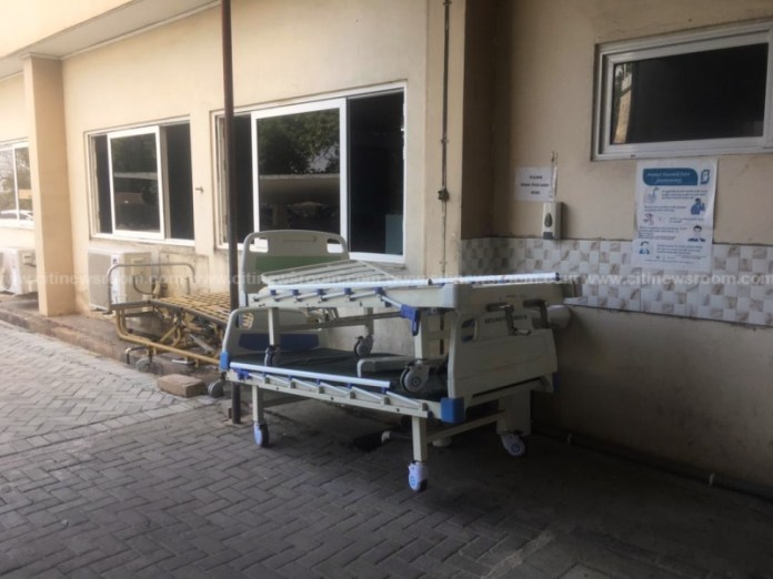 COVID-19 patients transferred to UG Medical Centre after fire guts Korle Bu ICU 3