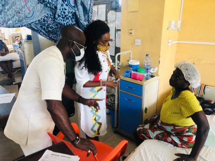 Asante Bediatuo's family donates to Korle-Bu Teaching Hospital maternity ward 3