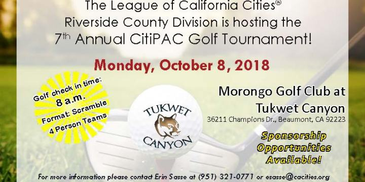 Riverside County Division Golf Tournament