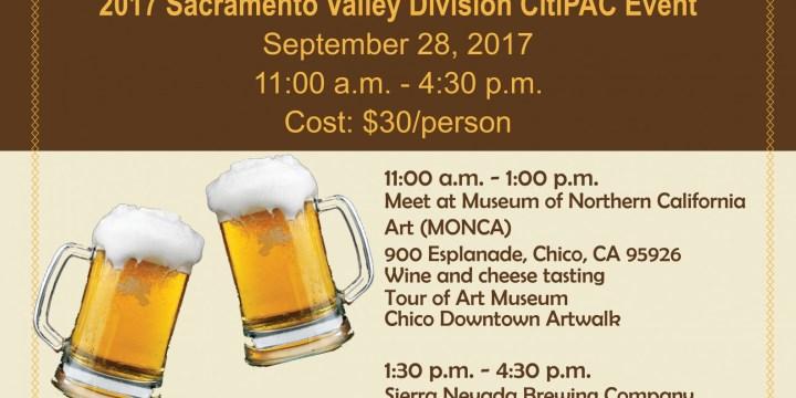 Sacramento Valley Division CitiPAC Fundraiser