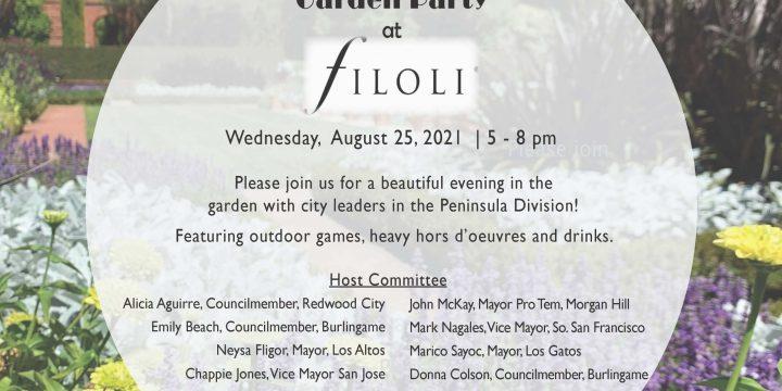 Peninsula Division Garden Party at Filoli