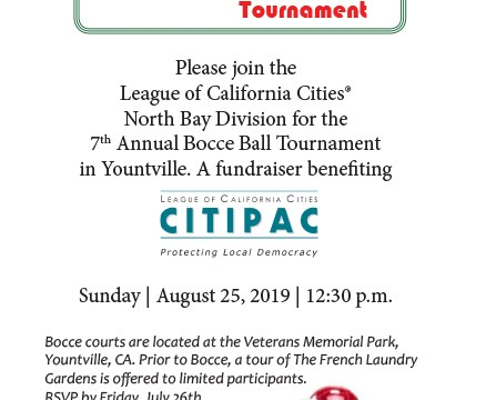 North Bay Division 7th Annual Bocce Ball Tournament