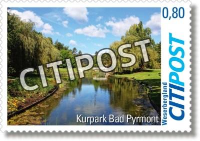 CITIPost Weserbergland - Bad Pyrmont 2017 - Einzelmarken