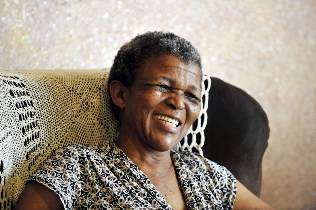 997 After seeing reports in the media that Tata is seriously ill, Onicca Mothoa from Soshanguve who alleges she is Nelson Mandela's first born talks about her pain and longing for her father whom she has never met. 180211. Picture: Bongiwe Mchunu
