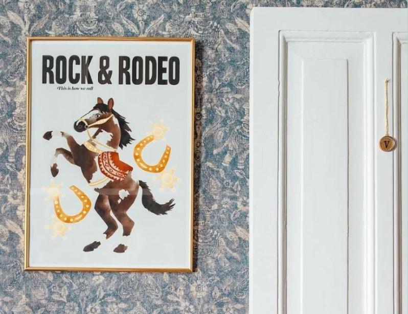 Zoe-Corbey-Rock-en-Rodeo-print