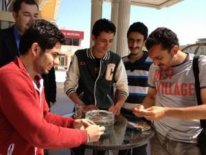 Friends in Istanbul. - April 2013