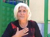 Sofie Jemini duke folur per Citizens Channel. Foto: Amarildo Topi Citizens Channel