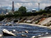 Lumi Gjanicë. Foto: Xhentiana Muskaj Citizens Channel Fier Ndotja e lumenjve