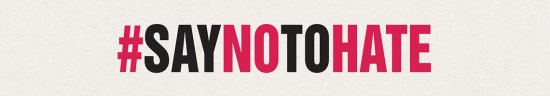 Say No to Hate Banner
