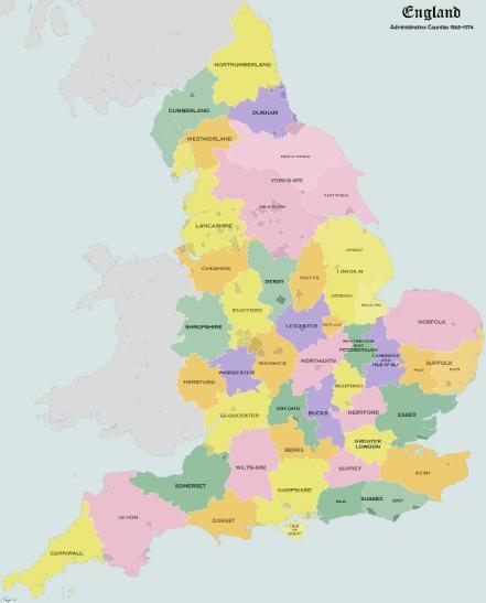 1974 English Councils
