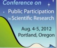 Public Participation in Scientific Research Conference 2012 Logo