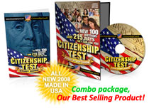 Citizenship Test audio CD for the new citizenship test