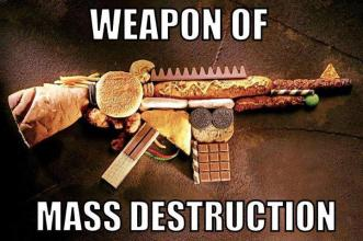 Junk food weapon