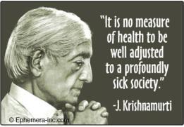 Jiddhu Krishnamurti's quote
