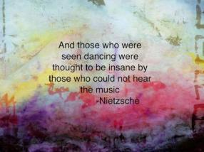 Nietzsche's quote
