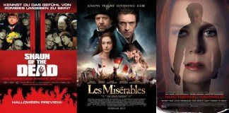 ©NFP/Central ©Universal Pictures Shaun of the Dead Les Misérables Nocturnal Animals Film Trailer Time