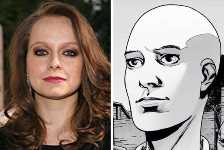 Samantha Morton als 'Alpha'