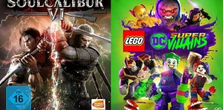 ©Bandai Namco Entertainment ©Warner Bros Games Soul Calibur 6 LEGO DC Super-Villains Games Trailer Time