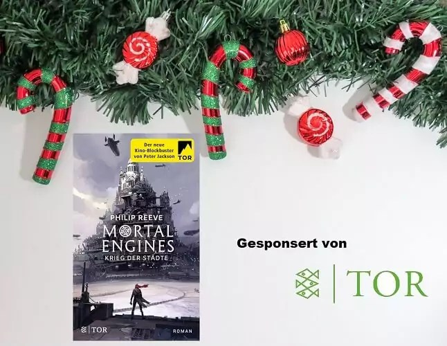 Tag 13 Adventskalender Mortal Engines Buch
