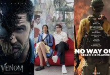 ©Sony Pictures ©Netflix ©Studiocanal venom die kunst des toten mannes no way out film trailer time