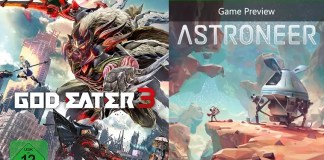 ©Bandai Namco Entertainment ©System Era Softworks God Eater 3 Astroneer games trailer time